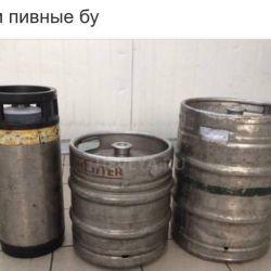 Πωλούν μπύρες που χρησιμοποιούνται 50 λίτρα.