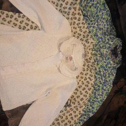 Блузки сорочки кофтинки сврафан