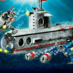 Lego υποβρύχιο