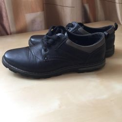 Boots nat. leather 38 size