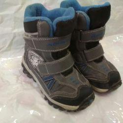 Зимние термо ботинки котофей 26 р