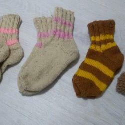 Κάλτσες από μαλλί