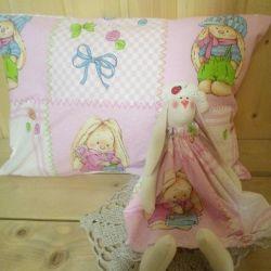 Pillow + Bunny
