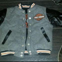 Ceket Harley Davidson kış çift taraflı