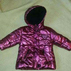 Kız demi sezonu için ceket.