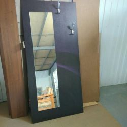 panel with mirror