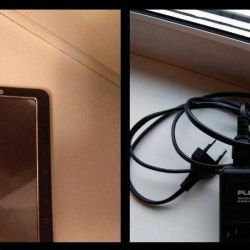 E-book, battery charger
