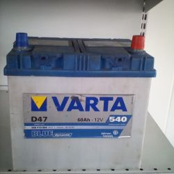Аккумулятор VARTA 60AH 540A ASIA