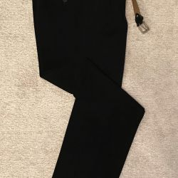 Maybax klasik erkek pantolon + Montblanc Kemeri