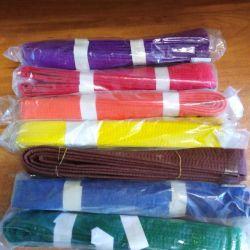 Belt for martial arts (colors and assortment)