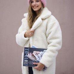 Eco Fur Coat -25😍🌈🐑👇