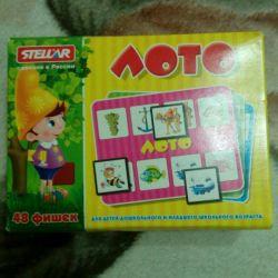 Joc de educație Lotto.