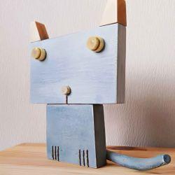 Cat Vasily Hand Made