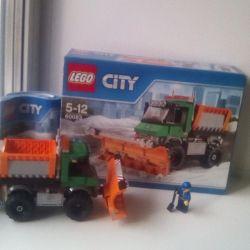 LEGO Snowplow pazarlık tasarımcısı