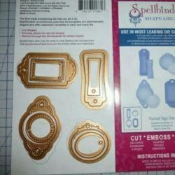 Spellbinders Cutting Set