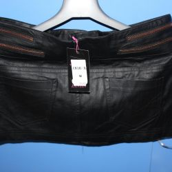 new skirt leatherette
