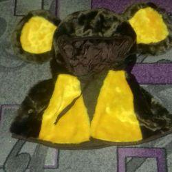 Carnival costume Cheburashka