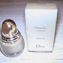 Лак Dior Diorific Vernis 328 Golden
