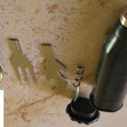 ложка вилка ножик походный набор СССР