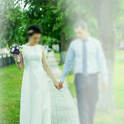 Wedding dress Line Koss 44-46