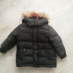 Down jacket for boy, 92 size