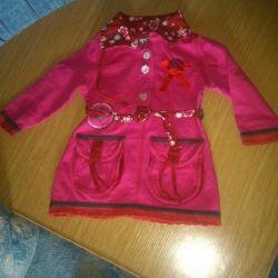 платья на малышку 3-6 месяцев
