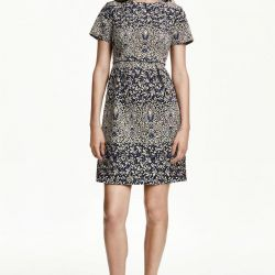 New jacquard dress from the company HM