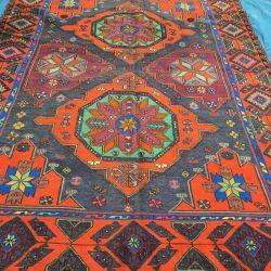 Kilim East. Caucasian oriental carpet. Sumac