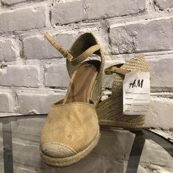Новые женские Босоножки H&M