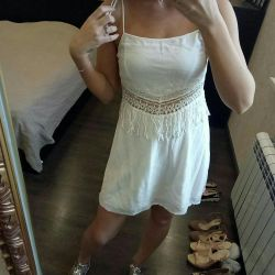 Elbise yeni yaz Bershka + loafer'lar