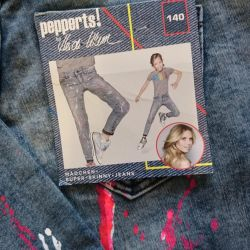 New German jeans for a girl