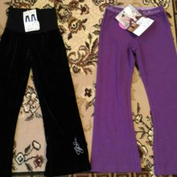 Pants for dancing Arina ballet dancer, 104 and 116 sizes