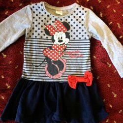 1 yaşında bir kız için elbise