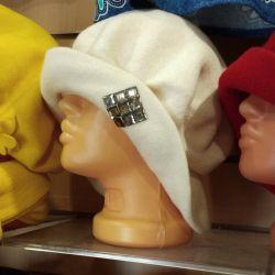 Hats made of felt wool.