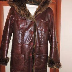 Sheepskin coat of nature.