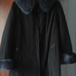 Женское зимнее пальто большого р-ра