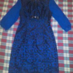 Hafif şenlikli elbise