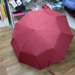 Umbrella with a manifesting pattern