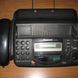 Faks - ikinci el Panasonic KX-FT64 telefon