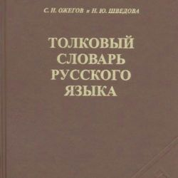 EXPLANATORY DICTIONARY OF THE RUSSIAN LANGUAGE