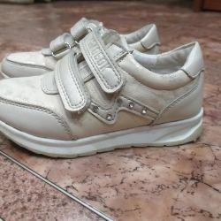 Παιδικά πάνινα παπούτσια, μέγεθος 24