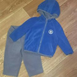 Crockid fleece suit