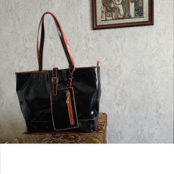 Τσάντα όμορφη Farella rosso Ιταλία