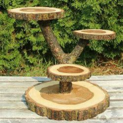 Table from spila of a tree. ORDER! Eco design