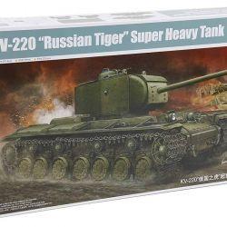 KV-220 Sovyet Tiger Ağır Sovyet Tankı