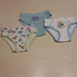 Swimming trunks from 5 to 10 months.