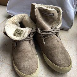 Shoes suede shoes size 36