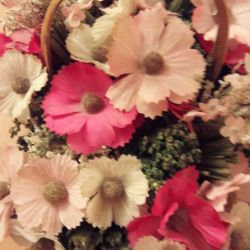 basket with flowers share today !!