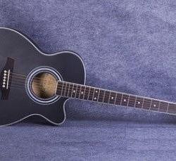 Δυτική κιθάρα (μαόνι, ερυθρελάτη) + θήκη