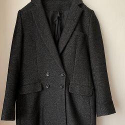 Fashionable coat like a jacket